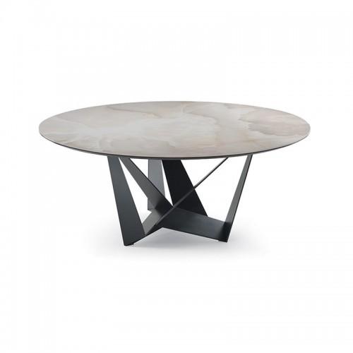 Cat. Skorpio Keramik Round étkezőasztal