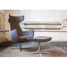 DW. Prestige fotel és lábtartó